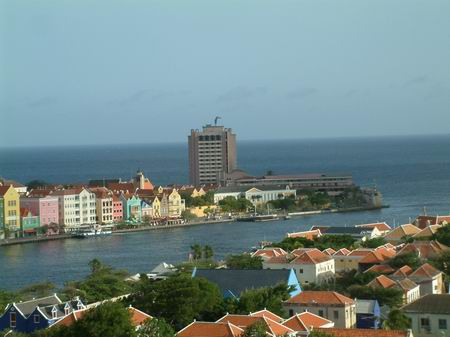 De haven van Willemstad